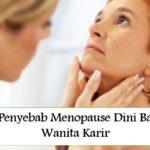 9 Penyebab Menopause Dini Bagi Wanita Karir